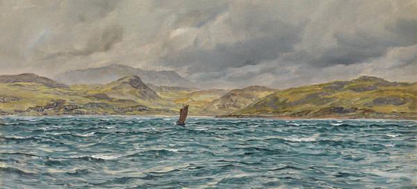 Brett Wall Art - Painting - Loch Beag, Skye by John Brett