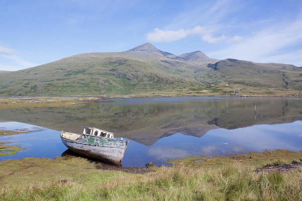Photograph - Loch Beg Reflections by Peter Walkden