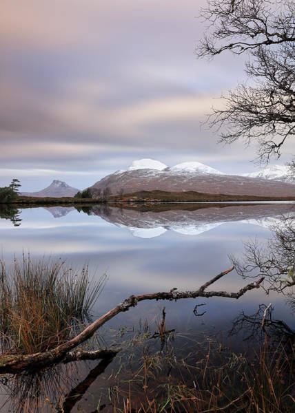Photograph - Loch Cul Dromannan by Grant Glendinning