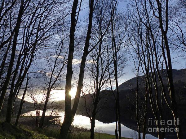 Photograph - Loch Dochart - Winter Sunset by Phil Banks
