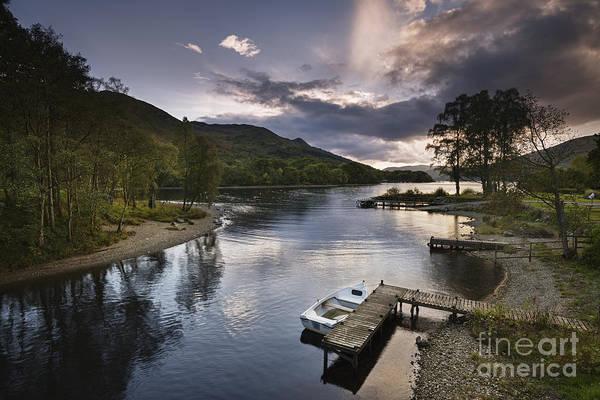 Highland Light Photograph - Loch Earn 1 by Rod McLean
