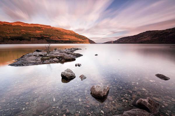 Photograph - Loch Laomainn by Grant Glendinning