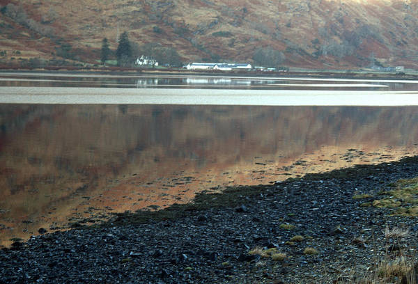 Photograph - Loch Linnhe Reflection by Kenneth Campbell