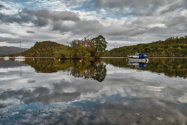 Photograph - Loch Lomond At Aldochlay by Jeremy Lavender Photography