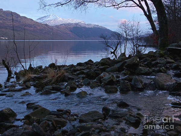 Photograph - Loch Lomond At Dusk by Phil Banks