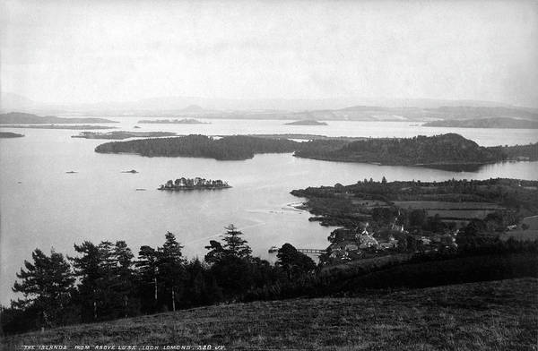 Photograph - Loch Lomond Islands From Above Luss by Lee Santa