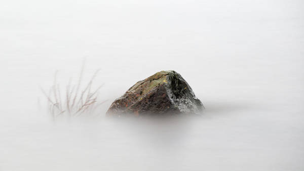 Photograph - Loch Lomond Rock by Grant Glendinning