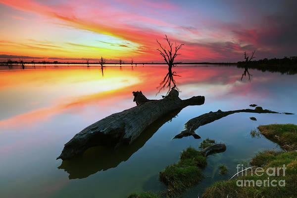 Wall Art - Photograph - Loch Lunar Sunset by Bill  Robinson