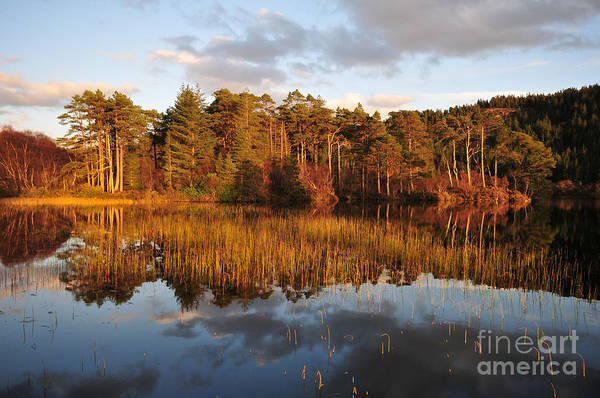 Loch Wall Art - Photograph - Loch Lundie by Smart Aviation
