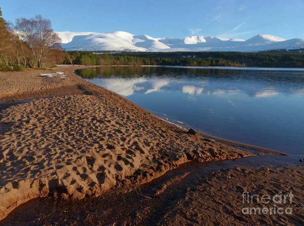 Photograph - Loch Morlich And The Cairngorms by Phil Banks