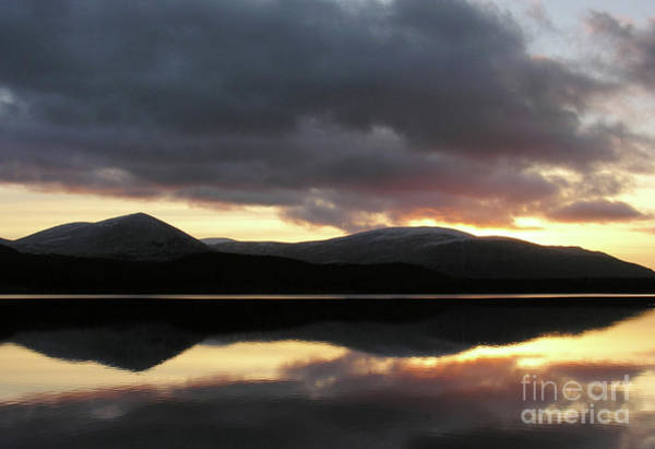 Photograph - Loch Morlich At Sunset by Phil Banks
