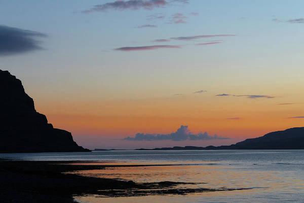 Loch Na Keal Sunset Art Print