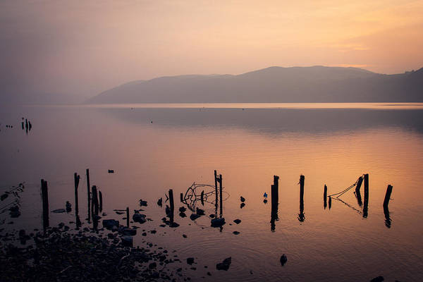 Golden Gardens Photograph - Loch Ness Sunset by Chris Dale