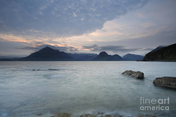 Photograph - Loch Scavaig At Sunset by Maria Gaellman