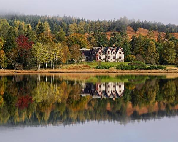 Photograph - Loch Tulla In Autumn by Stephen Taylor