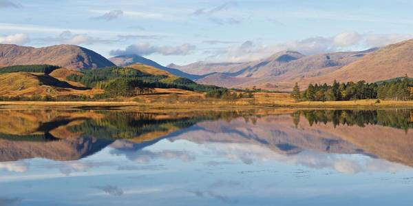 Photograph - Loch Tulla Panorama by Stephen Taylor