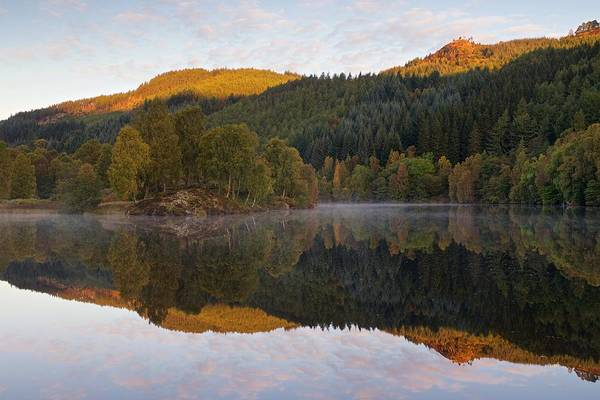 Photograph - Loch Tummel Sunrise by Stephen Taylor