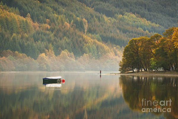 Freshwater Photograph - Loch Voil - Scotland by Rod McLean
