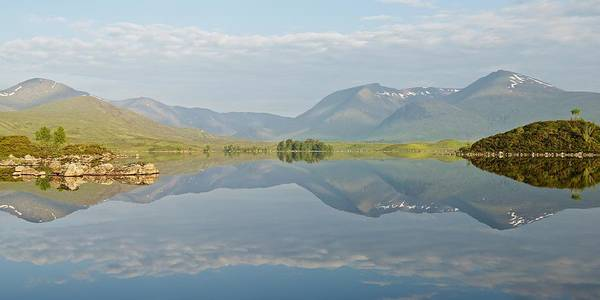 Photograph - Lochan Na H-achlaise Summer Reflections by Stephen Taylor