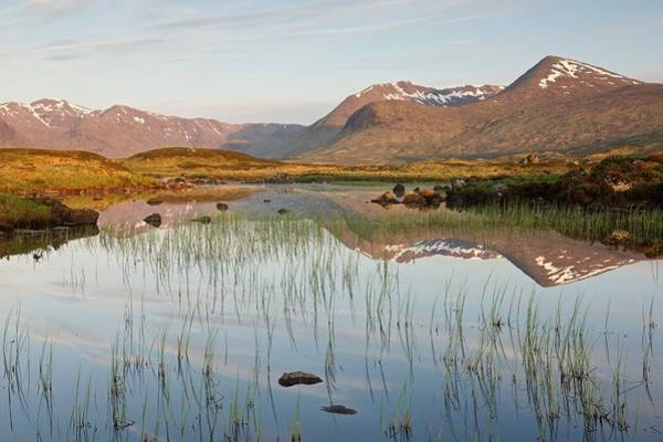 Photograph - Lochan Na Stainge First Light by Stephen Taylor