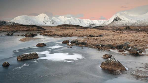 Wall Art - Photograph - Lochan Sunrise by Grant Glendinning