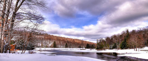 Photograph - Lock And Dam Snowscape by David Patterson