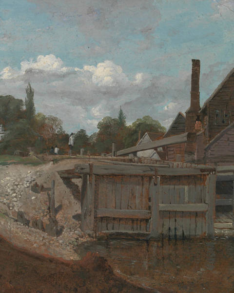 Painting - Lock Gate by William Mulready
