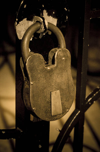 Photograph - Locked Away by Christi Kraft