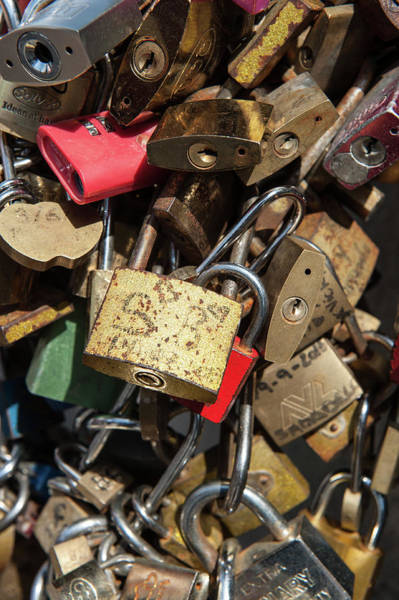 Photograph - Locked In Paris Iv by Helen Northcott