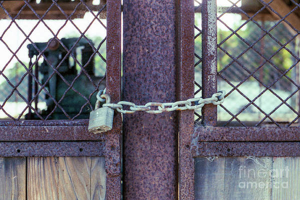 Photograph - Locked Up Layers by Ana V Ramirez