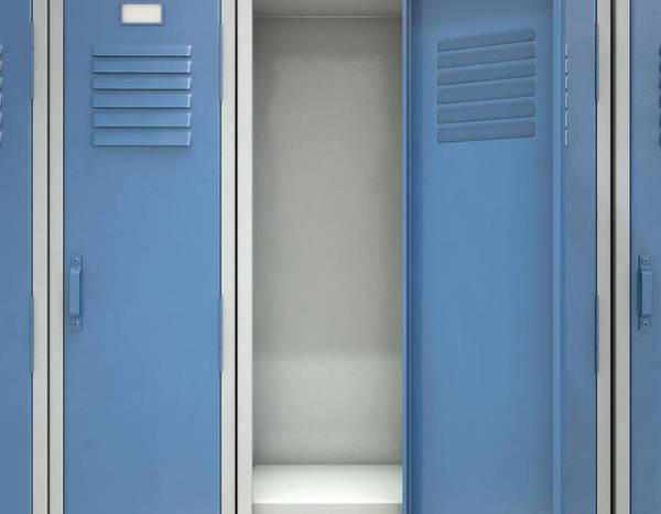 Wall Art - Digital Art - Locker Open by Allan Swart