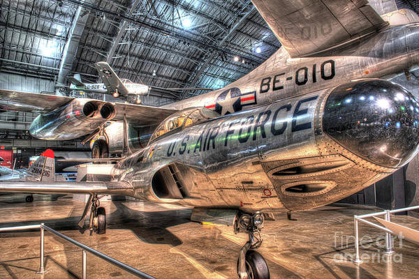 Star Wars 3 Wall Art - Photograph - Lockheed F-94 Starfire by Greg Hager