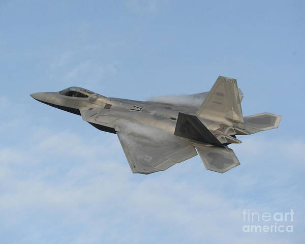 Photograph - Lockheed Martin F-22 Raptor, 2016 by Science Source