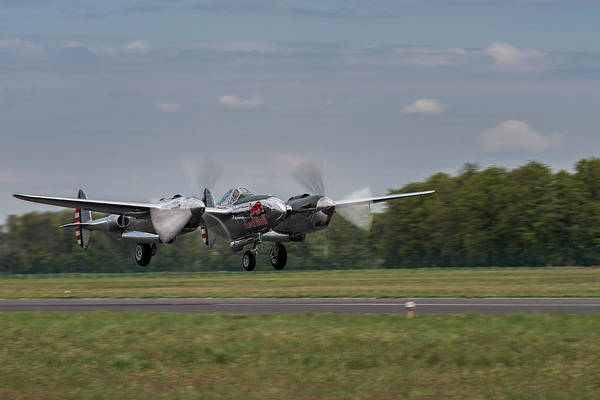 Lockheed P-38 Lightning Art Print