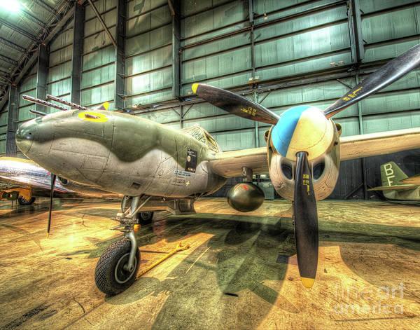 B29 Photograph - Lockheed P-38l Lightning by Greg Hager