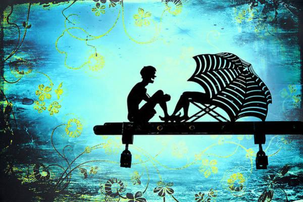 Locks Of Love Art Print