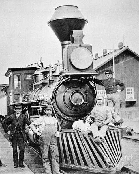 Photograph - Locomotive, 1883 by Granger