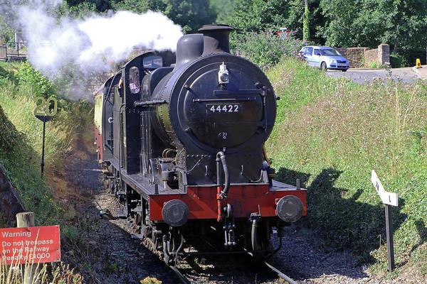 Photograph - Locomotive 44422 by Tony Murtagh