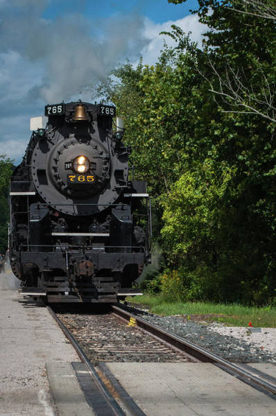 Photograph - Locomotive 765 by Stewart Helberg