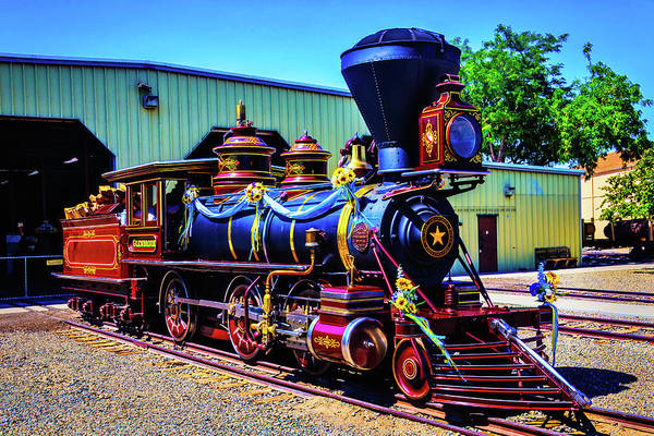 Gauge Photograph - Locomotive Glenbrook by Garry Gay
