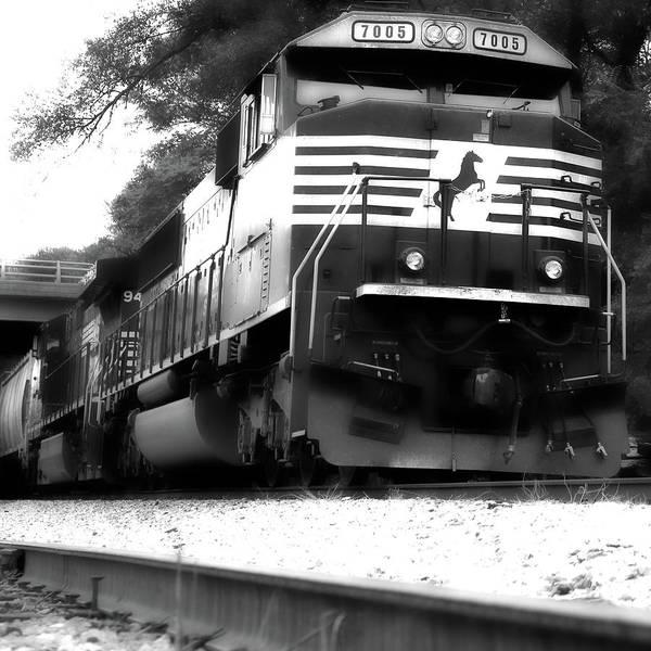 Norfolk Southern Railway Wall Art - Photograph - Locomotive by Mitch Cat