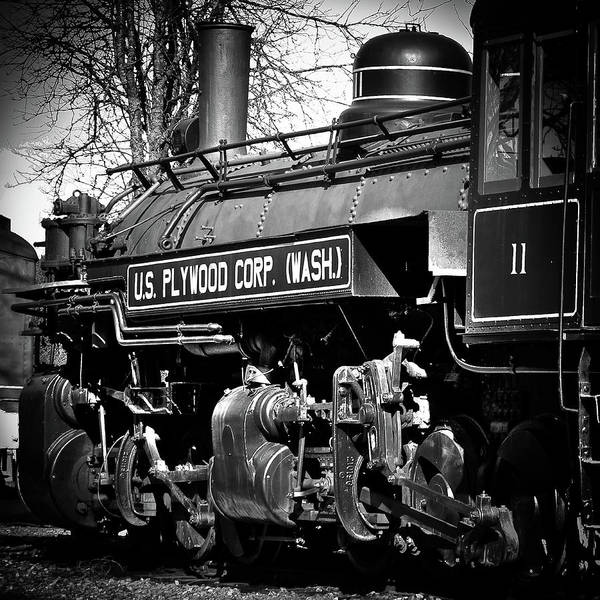 Photograph - Locomotive Number 11 by David Patterson