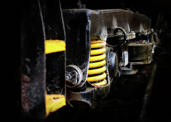 Photograph - Locomotive Relic by Nick Bywater