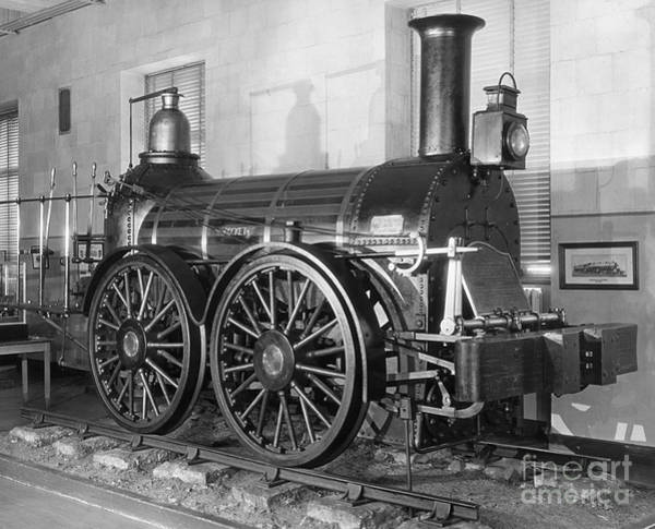 Photograph - Locomotive: Rocket, 1829 by Granger