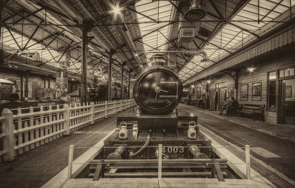 Photograph - Lode Star Gwr 4-6-0 by Clare Bambers