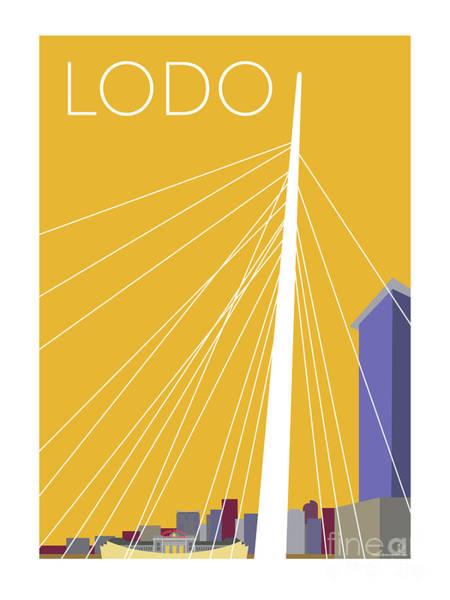 Digital Art - Lodo/gold by Sam Brennan
