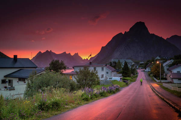 Photograph - Lofoten Nightlife  by Alex Conu