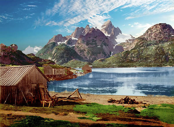 Photograph - Lofoten, Norway - Remastered by Carlos Diaz