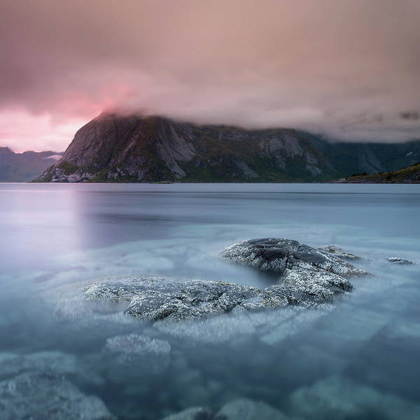 Lofoten Sunset Art Print
