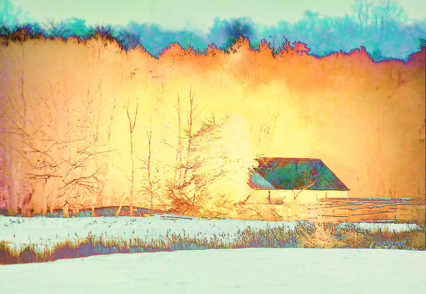 Photograph - Log Cabin In The Woods by Valerie Anne Kelly